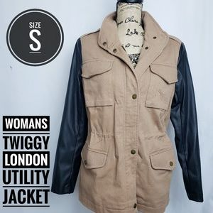 Womans Twiggy London Utility Jacket